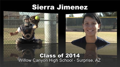 Sierra Jimenez Softball Recruitment Video – Class of 2014