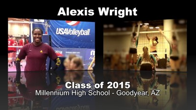 Alexis Wright Volleyball Recruitment Video – Class of 2015