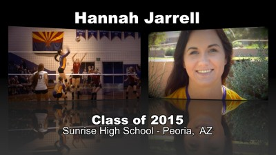 Hannah Jarrell Volleyball Recruitment Video – Class of 2015