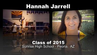 Hannah Jarrell Volleyball Recruitment Video – Class of 2015