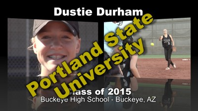 Dustie Durham Softball Recruitment Video – Class of 2015