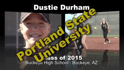 Dustie Durham Softball Recruitment Video – Class of 2015