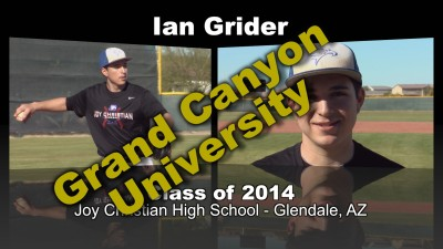 Ian Grider Baseball Recruitment Video – Class of 2014