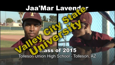 Jaa'Mar Lavender Baseball Recruitment Video – Class of 2015