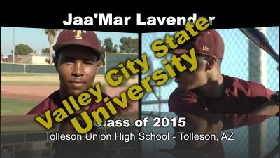 Jaa'Mar Lavender Baseball Recruitment Video – Class of 2015
