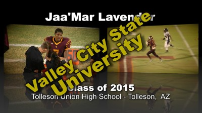 Jaa'Mar Lavender Football Recruitment Video – Class of 2015