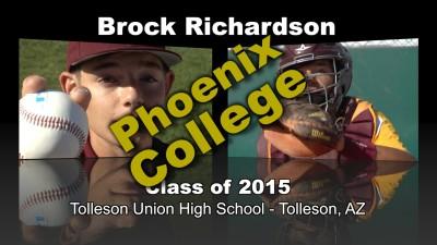 Brock Richardson Baseball Recruitment Video – Class of 2015