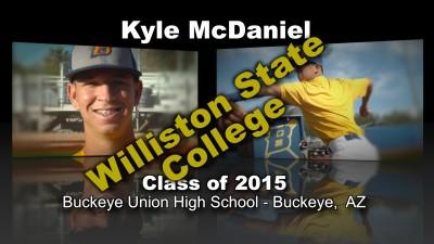 Kyle McDaniel Baseball Recruitment Video – Class of 2015
