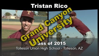 Tristan Rico Baseball Recruitment Video – Class of 2015