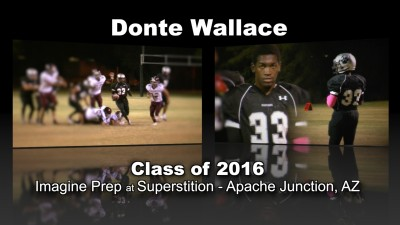 Donte Wallace Football Recruitment Video – Class of 2016