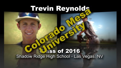 Trevin Reynolds Baseball Recruitment Video – Class of 2015