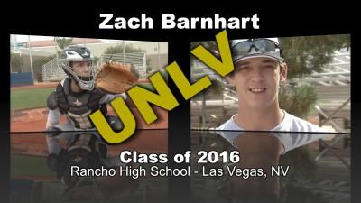 Zach Barnhart Baseball Recruitment Video – Class of 2016