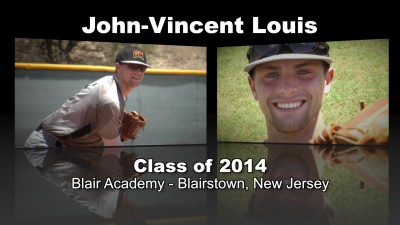 John-Vincent Louis Baseball Recruitment Video – Class of 2014
