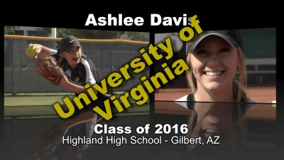 Ashlee Davis Softball Recruitment Video – Class of 2016