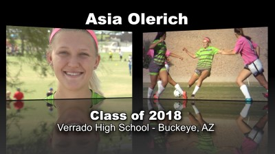 Asia Olerich Soccer Recruitment Video – Class of 2018