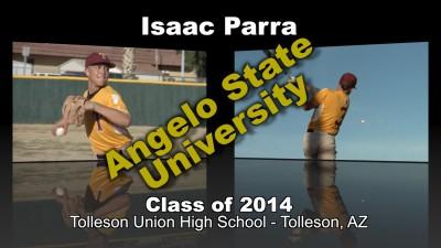 Isaac Parra Baseball Recruitment Video – Class of 2014