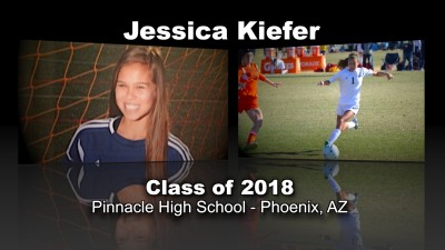 Jessica Kiefer Soccer Recruitment Video – Class of 2018