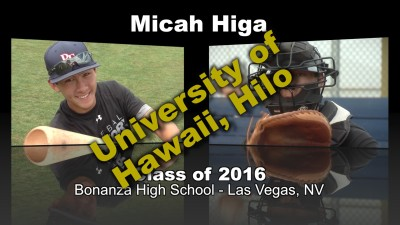 Micah Higa Baseball Recruitment Video – Class of 2016