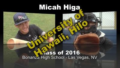 Micah Higa Baseball Recruitment Video – Class of 2016
