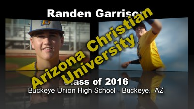 Randen Garrison Baseball Recruitment Video – Class of 2016