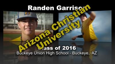 Randen Garrison Baseball Recruitment Video – Class of 2016