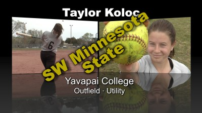 Taylor Koloc Softball Recruitment Video – Yavapai College