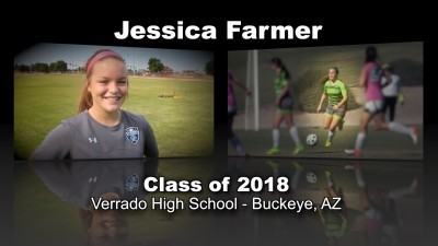Jessica Farmer Soccer Recruitment Video – Class of 2018