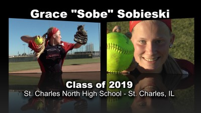 "Grace ""Sobe"" Sobieski Softball Recruitment Video – Class of 2019"