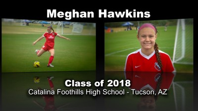 Meghan Hawkins Soccer Recruitment Video – Class of 2018