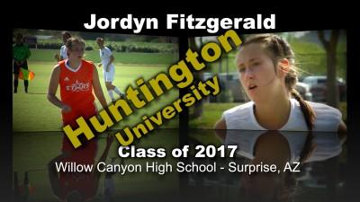 Jordyn Fitzgerald Soccer Recruitment Video – Class of 2017