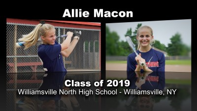 Allie Macon Softball Recruitment Video – Class of 2019