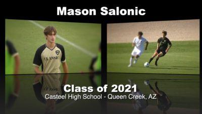 Mason Salonic Soccer Recruitment Video – Class of 2021