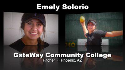 Emely Solorio Softball Recruitment Video