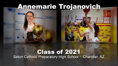 Annemarie Trojanovich Basketball Recruitment Video – Class of 2021