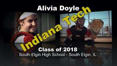 Alivia Doyle Softball Recruitment Video – Class of 2018