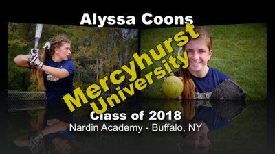 Alyssa Coons Softball Recruitment Video – Class of 2018 (Update)