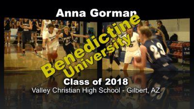 Anna Gorman Basketball Recruitment Video – Class of 2018