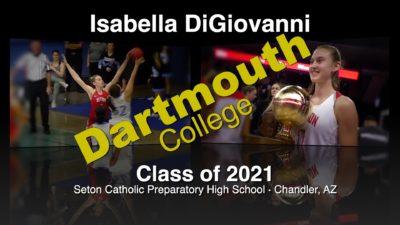 Isabella DiGiovanni Basketball Recruitment Video – Class of 2021