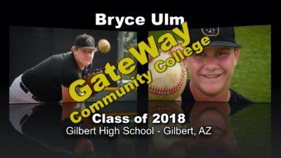 Bryce Ulm Baseball Recruitment Video – Class of 2017