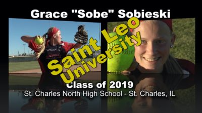 "Grace ""Sobe"" Sobieski Softball Recruitment Video – Class of 2019"
