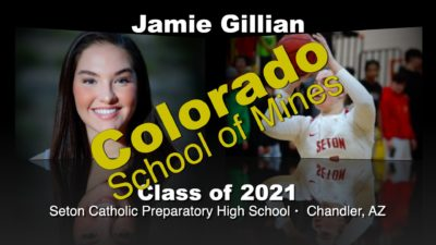 Jamie Gillian Basketball Recruitment Video – Class of 2021