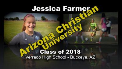 Jessica Farmer Soccer Recruitment Video – Class of 2018