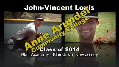 John-Vincent Louis Baseball Recruitment Video – Class of 2014