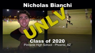 Nicholas Bianchi Soccer Recruitment Video – Class of 2020