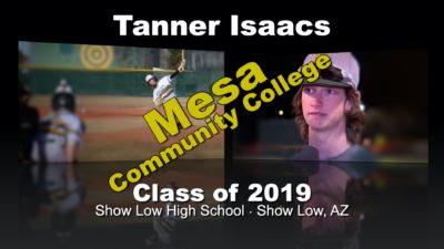 Tanner Isaacs Baseball Recruitment Video – Class of 2019