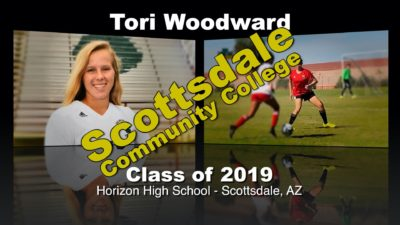 Tori Woodward Soccer Recruitment Video – Class of 2019