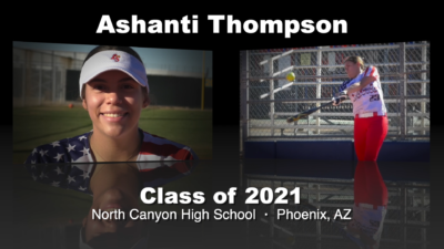 Ashanti Thompson Softball Recruitment Video – Class of 2021