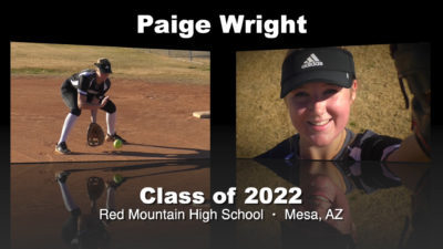 Paige Wright Softball Recruitment Video – Class of 2022