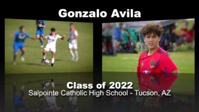 Gonzalo Avila Soccer Recruitment Video – Class of 2022